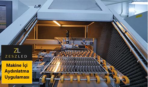 Makine Ici LED Aydinlatma Uygulamasi3 - Makinelerin LED Aydınlatmasında Dikkat Edilmesi Gerekenler Bilgi ve Haber