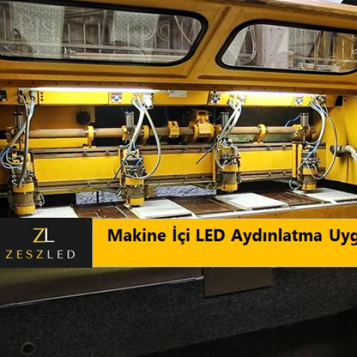 Makine İçi ProfiLED LED Aydınlatma Uygulaması