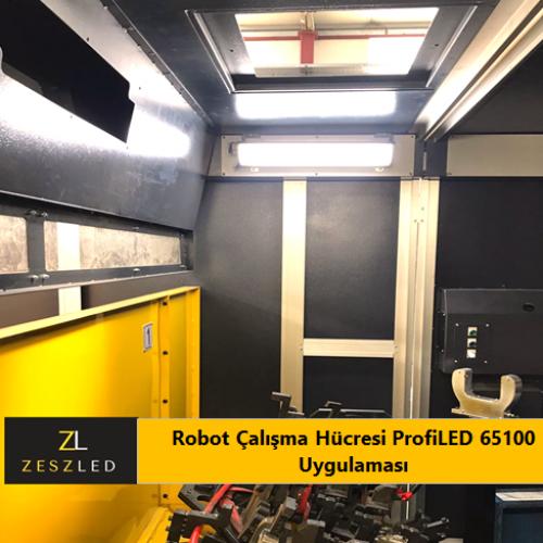Robot Çalışma Hücresi ProfiLED 65100 Uygulaması(2)