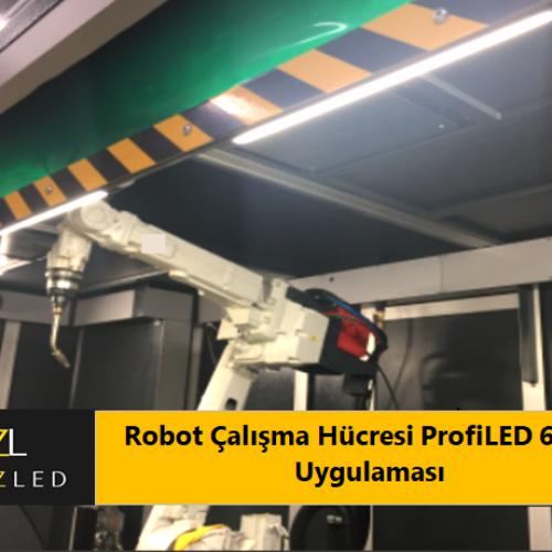 Robot Çalışma Hücresi ProfiLED 68117 Uygulaması